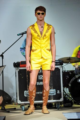 Олег Скрипка представил коллекцию мужской одежды в рамках Ukrainian Fashion Week