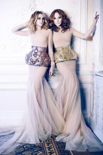 Группа ВИА Гра снялась в фотосессии в роскошных платьях