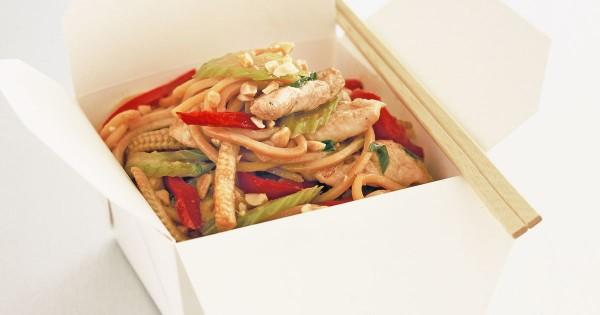 китайская лапша в коробочках с курицей рецепт пошаговый