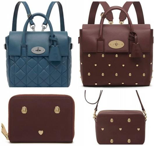 Кара Делевинь создала коллекцию сумок для Mulberry