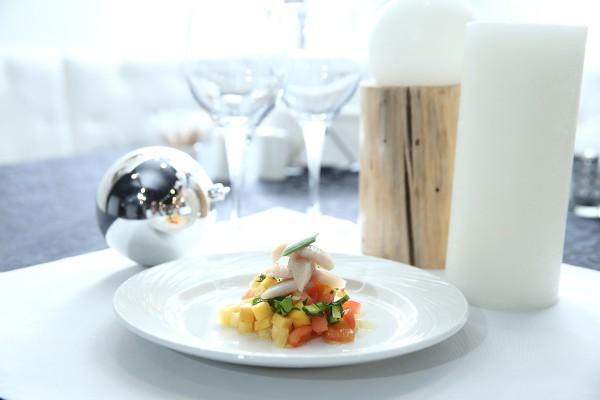 Праздничный салат из сельди