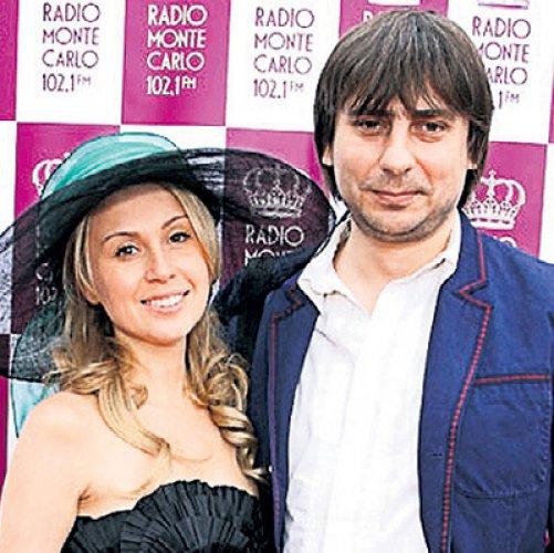 Роман Емельянов с экс-женой Ириной