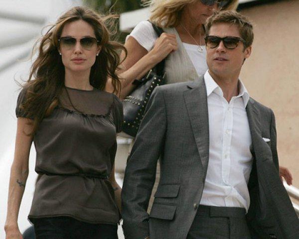 Брэд Питт и Анджелина Джоли поженятся в двадцатых числах сентября