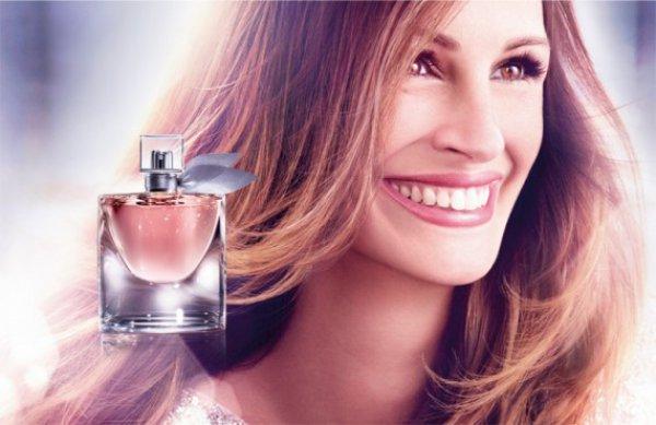 Джулия Робертс - лицо аромата La Vie Est Belle