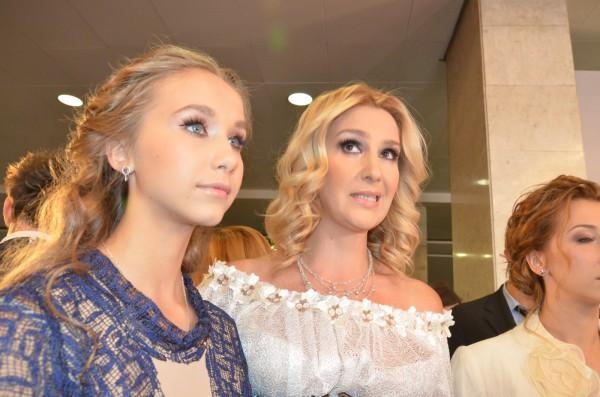 Снежана Егорова с дочкой