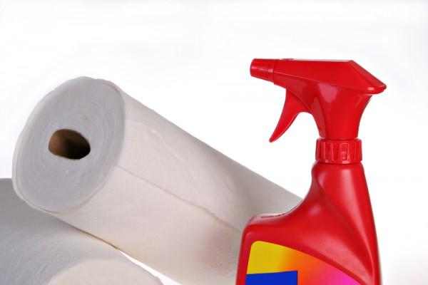 Держи под рукой бумажные полотенца