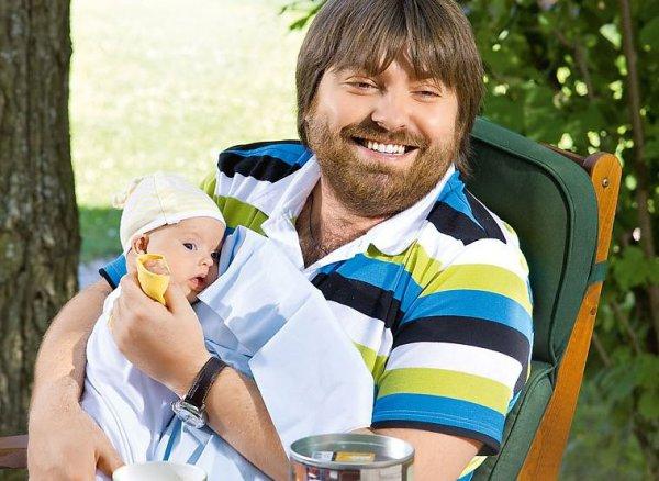 Александр Семин со своим сыном