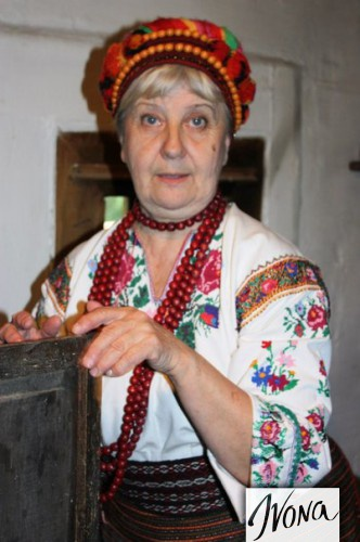 Хозяйка украинской хаты