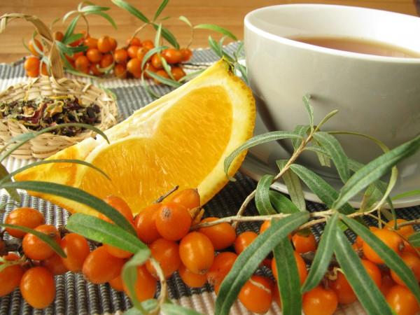 Рецепт                  Облепихово-апельсиновый чай