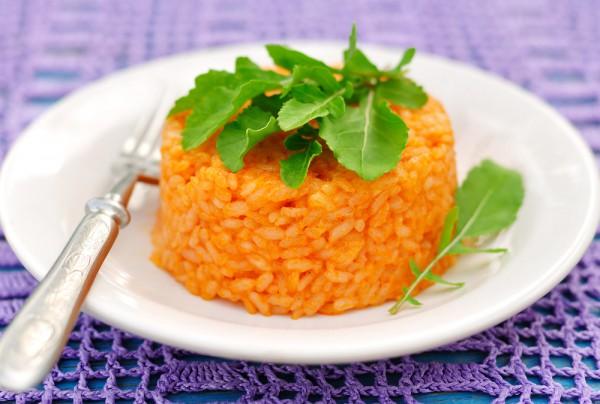 Постный рис по-мексикански