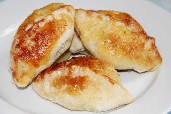 Рецепт                  Пирожки с капустой и грибами