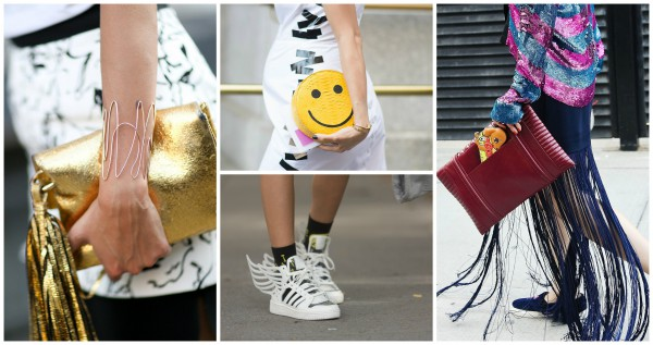 Неделя моды в Ню-Йорке: аксессуары street style
