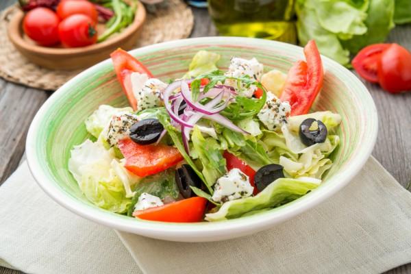 Греческий салат от Джейми Оливера