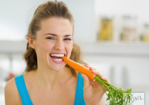 Морковь вызывает желтизну кожи