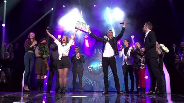 Победители шоу Співай як зірка – Артем Захаров и Ирина Островская