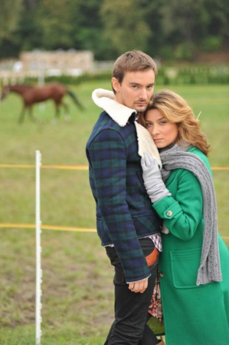 Жанна со своим вторым мужем Аланом Бадоевым