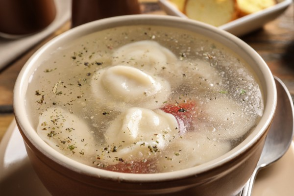 Суп с галушками в мультиварке