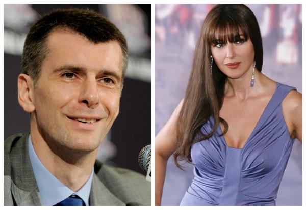 Моника Беллуччи и Михаил Прохоров могут стать мужем и женой