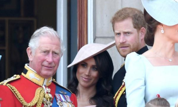 Принц Чарльз, Маген Маркл и принц Гарри
