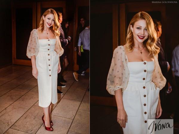 Тина Кароль в платье от Ульяны Сергеенко на премии YUNA 2013