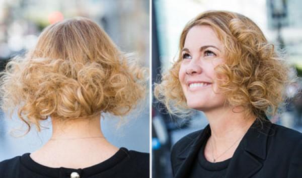 Стрижка расправе на длинных волосах (фото)