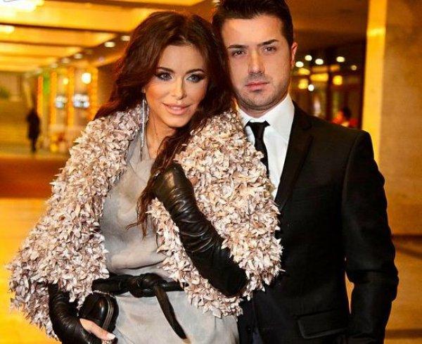 Постройневшая Ани Лорак  с мужем Муратом на музыкальной церемонии YUNA