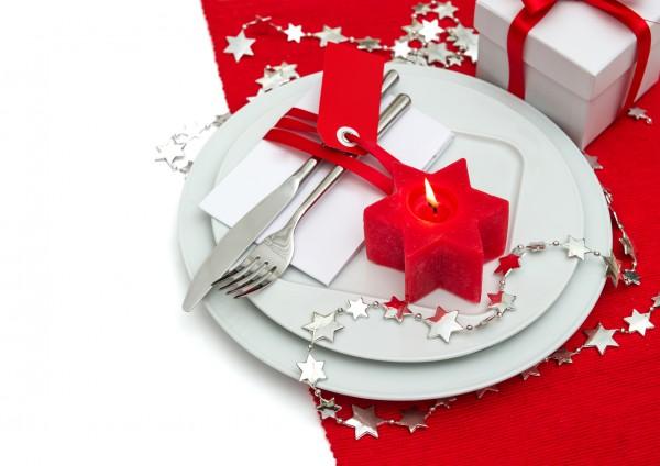 Сервировка новогоднего стола 2017