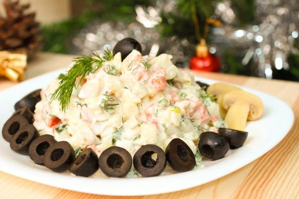 Салат на новогодний стол