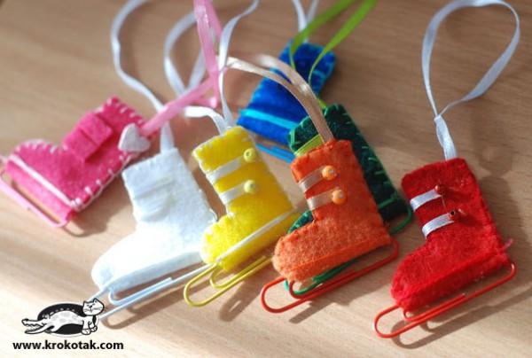Елочная игрушка своими руками 1 класс