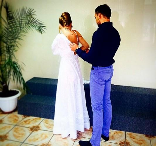 Рыженькая солистка НеАнгелов вышла замуж