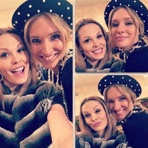 Мария Горбань с Катей Осадчей