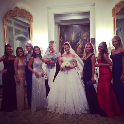 Анастасия Волочкова побывала на свадьбе в Турции