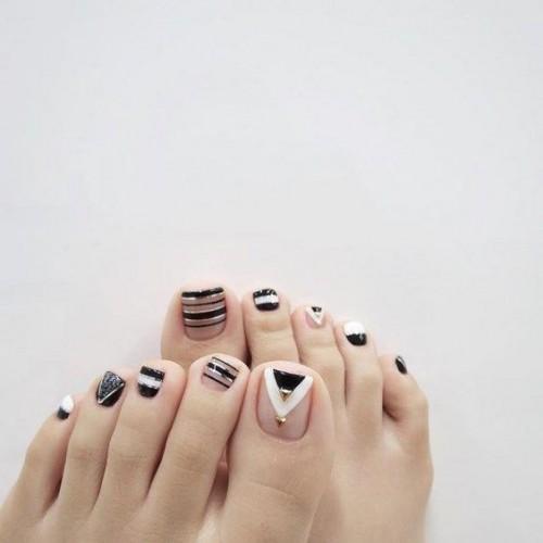 Лучшие идеи дизайна ногтей на ногах