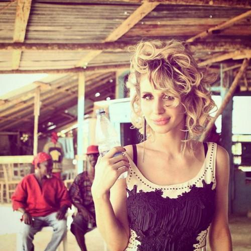 Украинская певица LOBODA