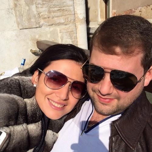 Жасмин с супругом Иланом Шором
