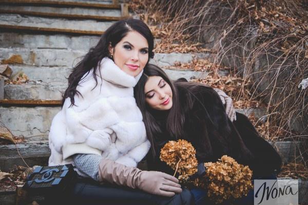 Влада Литовченко с дочкой Кристиной