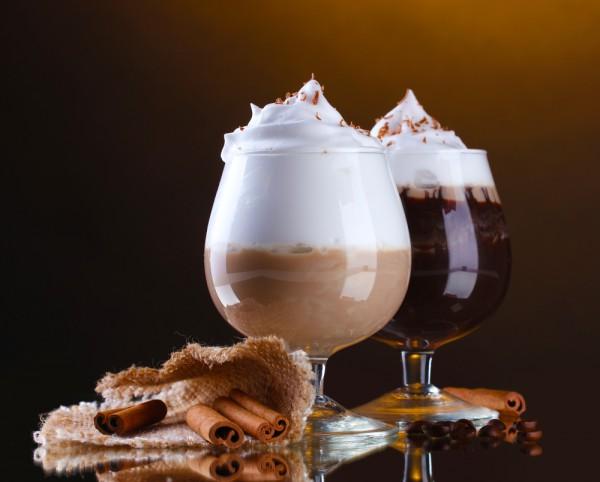 Коктейль кофейный с ромом фото