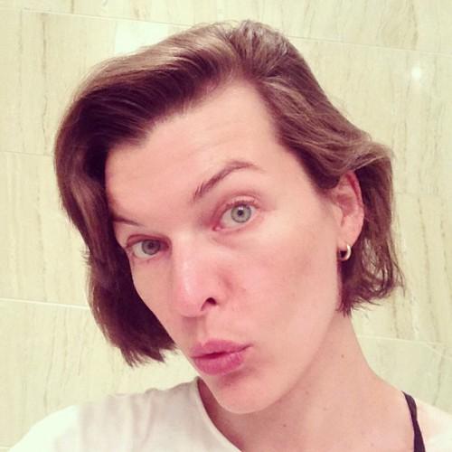 Мила Йовович не боится быть смешной