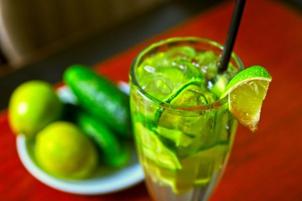 Рецепт                  Огуречно-лаймовый лимонад
