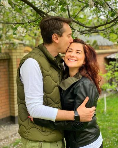 Михаил Присяжнюк с женой