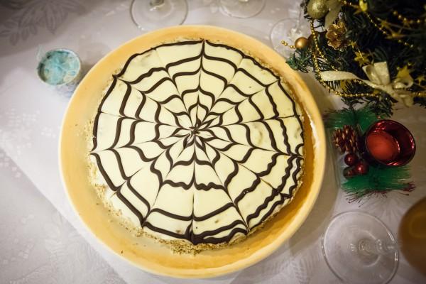 Торт Эстерхази на Новый год