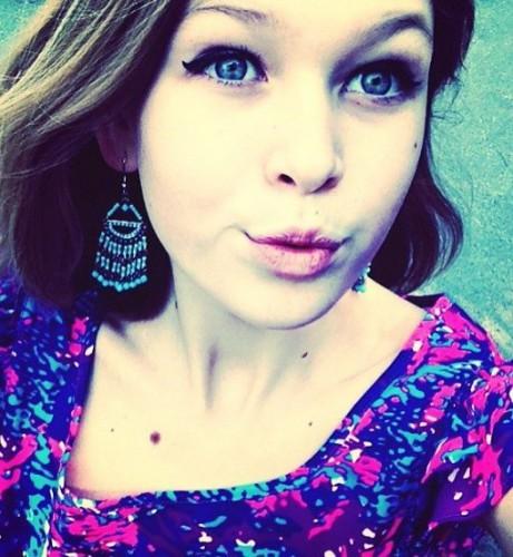 Дочь Веры Брежневой ярко красится