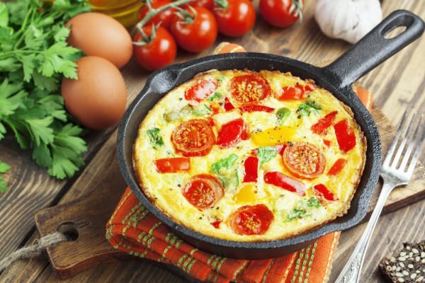 Запеканка из яиц на завтрак
