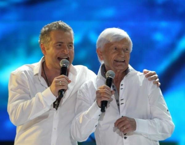 Леонид Агутин с отцом Николаем Агутиным