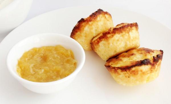 Рецепт                  Сырники в духовке