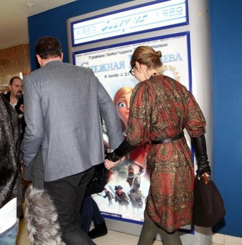 Ксения Собчак и Максим Виторган ушли с дня рождения за руку