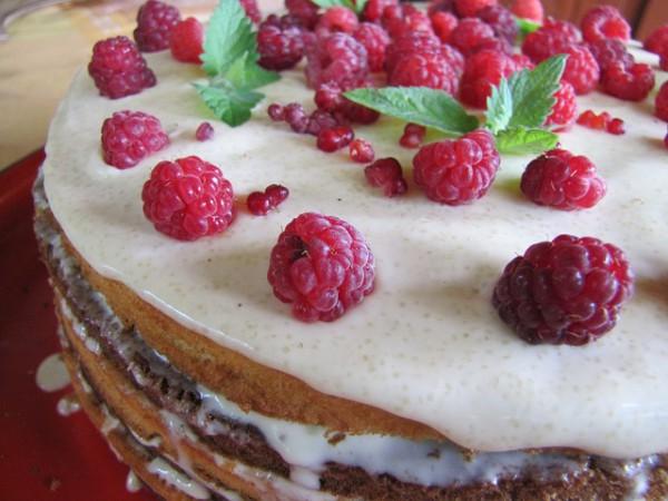 Домашний торт с кремом