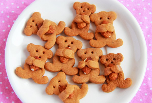 Печенье Мишка с орехом