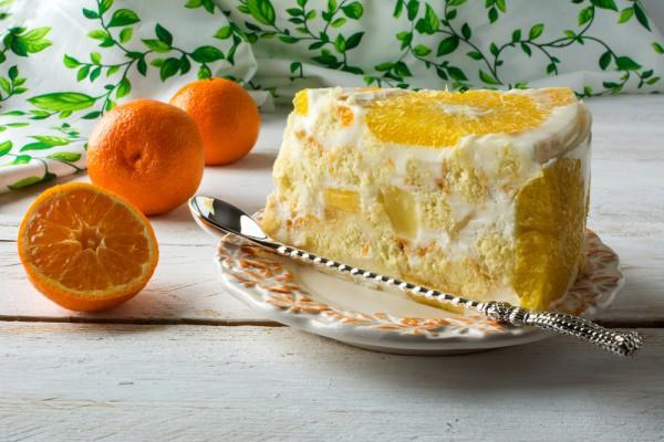 Торт без выпечки желейный
