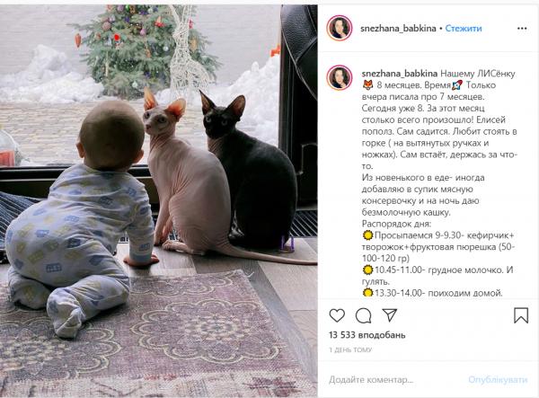 Сын Снежаны и Сергея Бабкиных